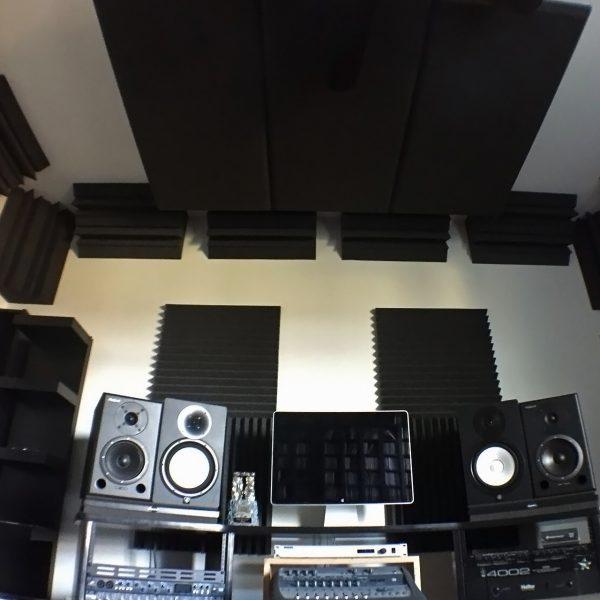 Bass trap akustik sungerler