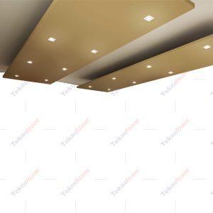Canopy yüzer tavan paneli modelleri