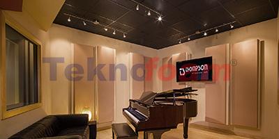 Teknofoam Müzik Odası Akustik Yalıtım Ses İzolasyon Malzemeleri