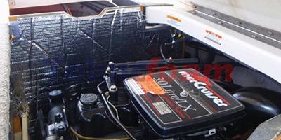 Teknofoam Tekne Motoru Akustik Yalıtım Ses İzolasyon Malzemeleri