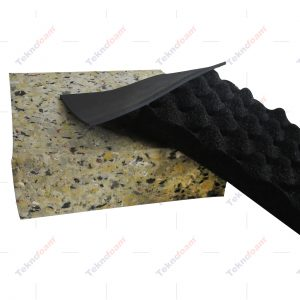 Bariyerli ve rebondedli yanmaz akustik sünger modelleri